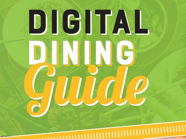 Digital dining guide widget