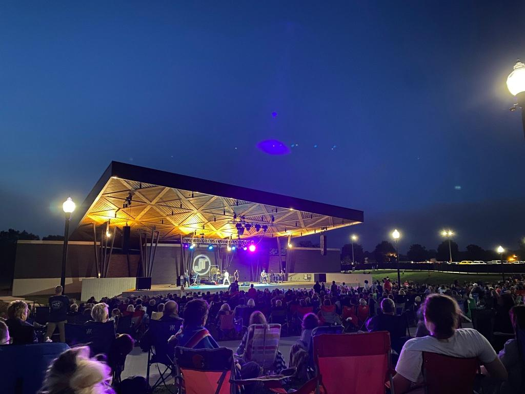 Experience a Concert at the Jackson Amphitheater