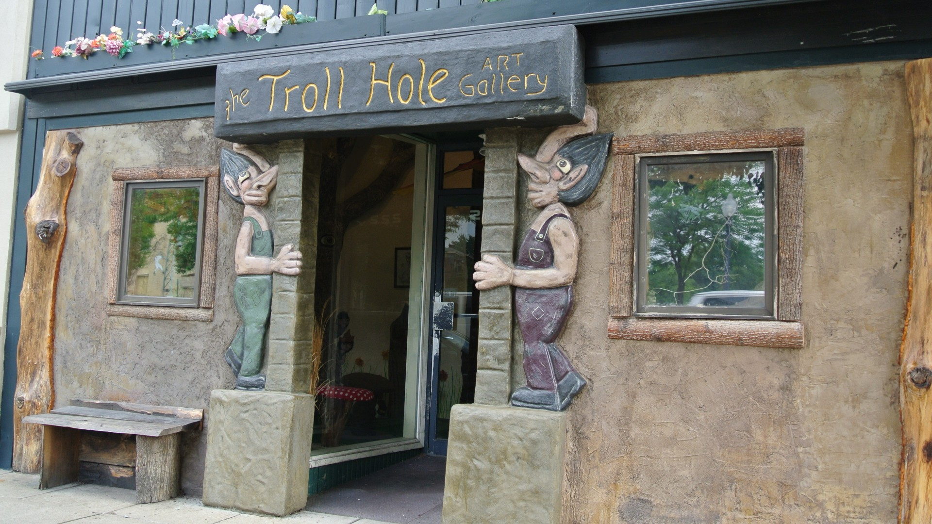 The Troll Hole Art Gallery and Museum in Alliance, Ohio