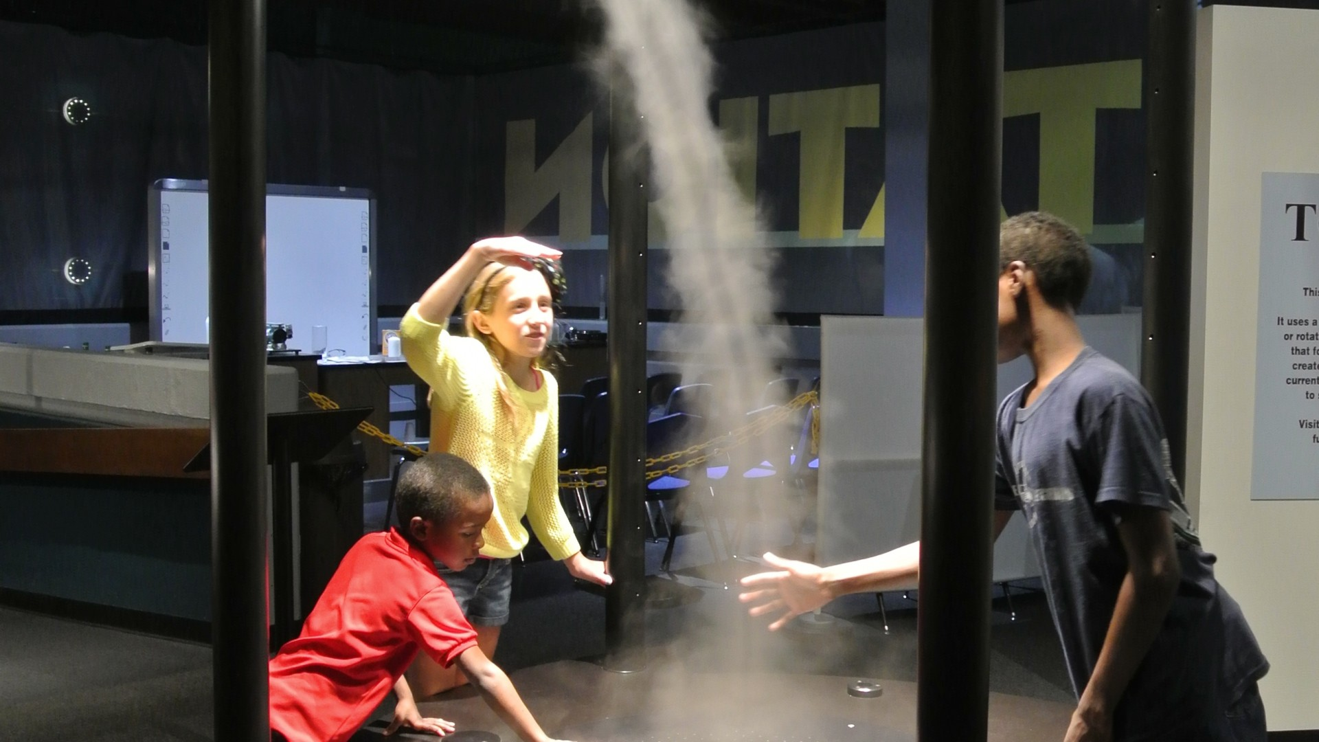 Tornado at Mckinley Museum