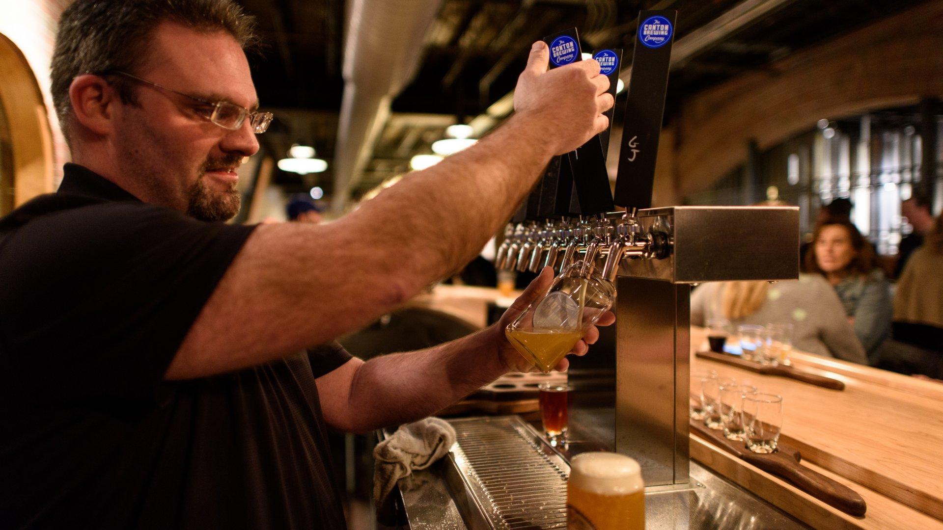 Visit Canton's Breweries