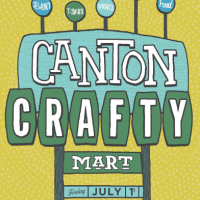 Crafty Mart Returns to the Canton Museum of Art July 1st