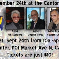 Hall of Fame City Comic Con September 24 at Canton Civic Center