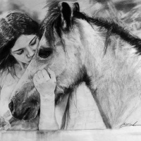 Art of Saving a Horse Opens at IKON IMAGES Gallery