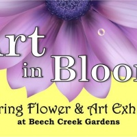 Combination of Art and Nature is in Full Bloom at Beech Creek Botanical Gardens