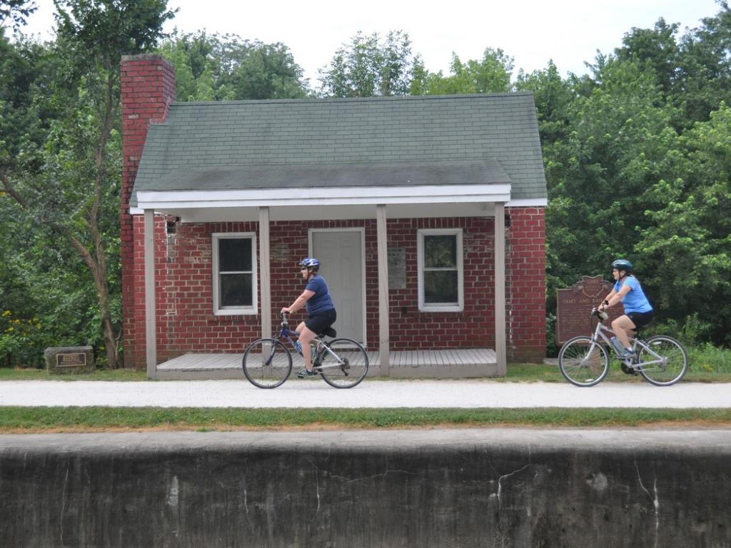 I Want to Ride My Bicycle: On the Ohio & Erie Towpath Trail!