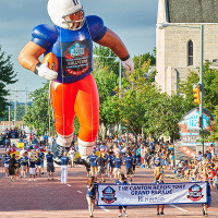 What's Happening in Canton Enshrinement Week: Football. Family Fun. Music. Arts.